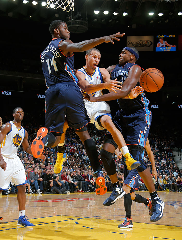 Dec. 21, 2012 — Golden State Warriors vs. Charlotte Bobcats