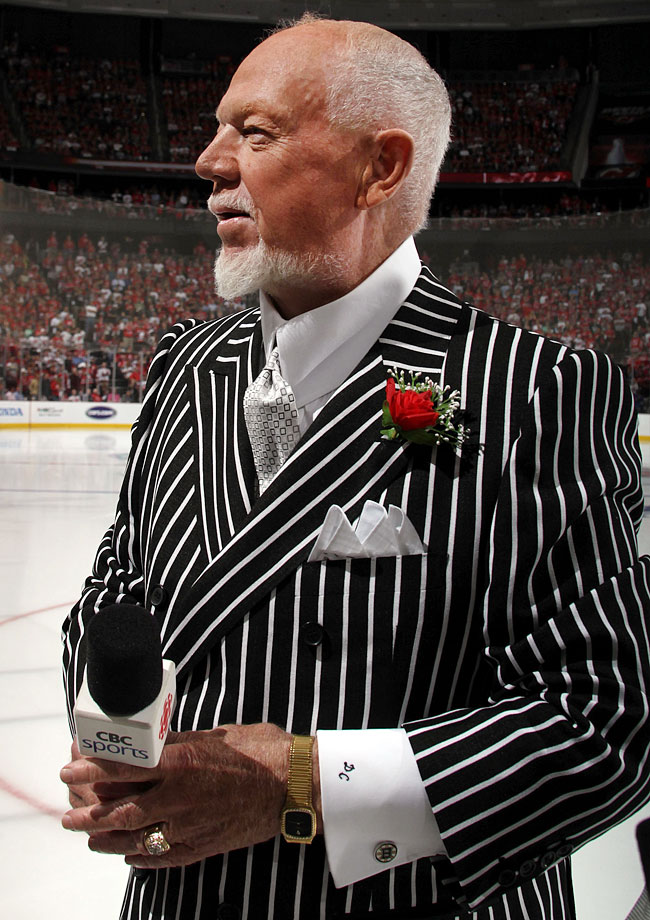 Got a beef with the officiating? Meet 'em head-on with the Zebra Look.