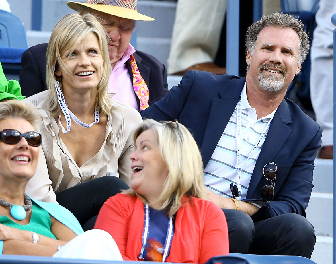 Will Ferrell and his wife Viveca attend the match between Serena Williams and Victoria Azarenka on Day 14 of the US Open on Sept. 9, 2012 at the USTA Billie Jean King National Tennis Center in Flushing, N.Y.