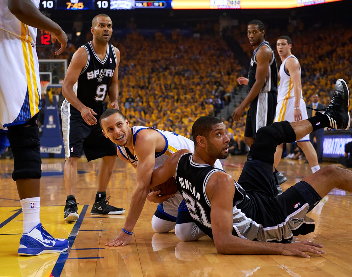 May 10, 2013 — NBA Western Conference Semifinals Game 3, Golden State Warriors vs. San Antonio Spurs