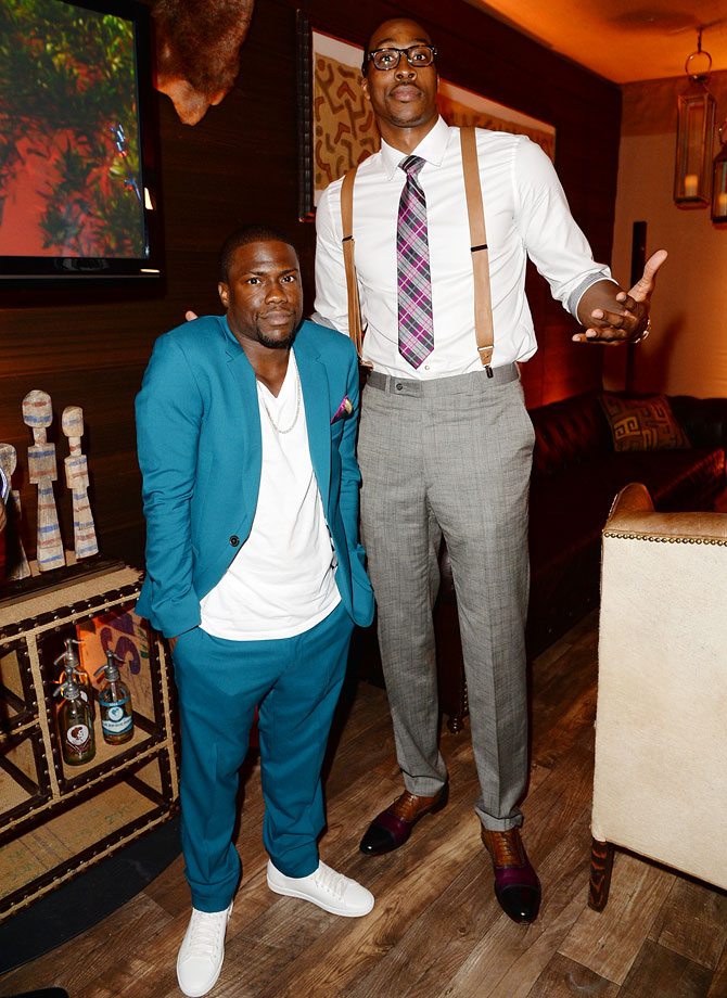 with Kevin Hart