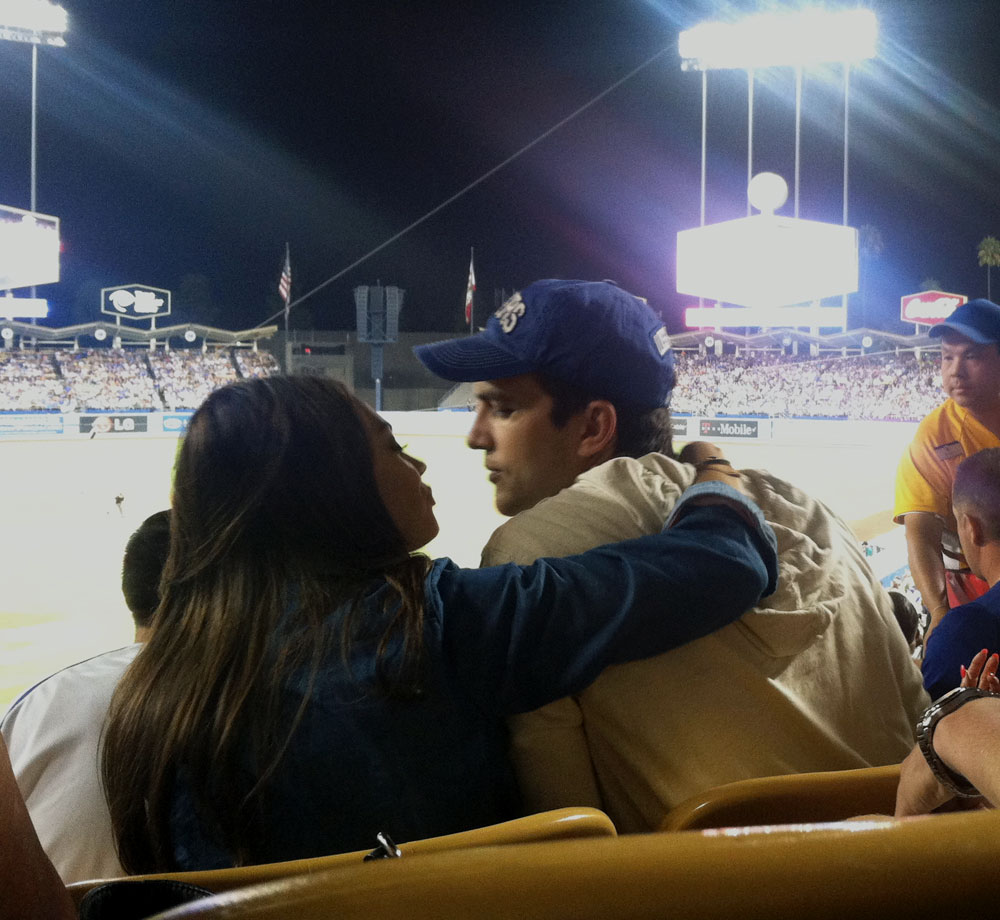 Sept. 14, 2013 at Dodger Stadium in Los Angeles.