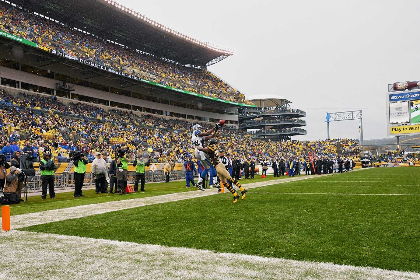 Nov. 17, 2013 — Detroit Lions vs. Pittsburgh Steelers