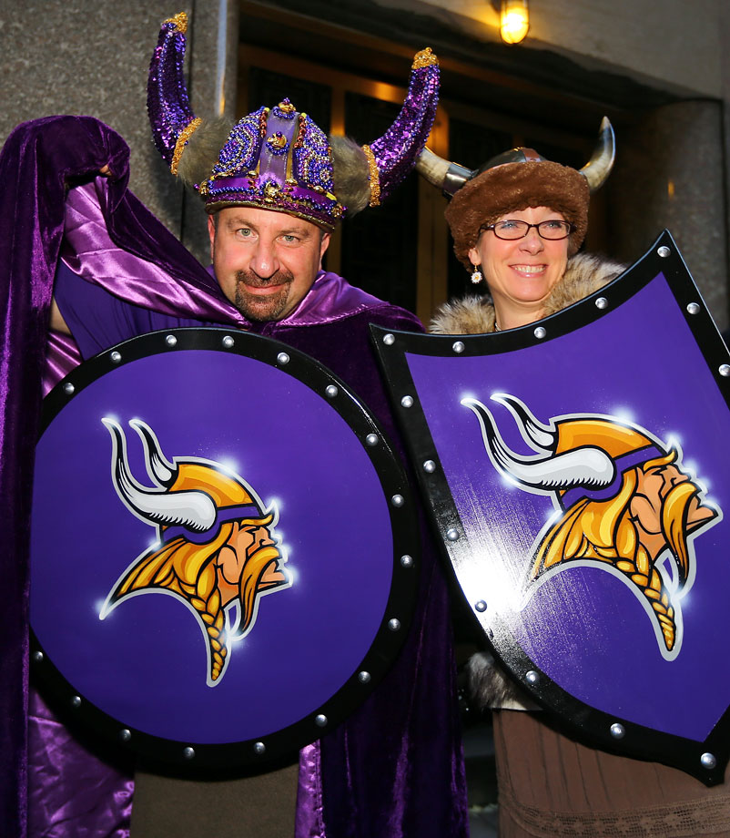 Minnesota Vikings fans in 2013.