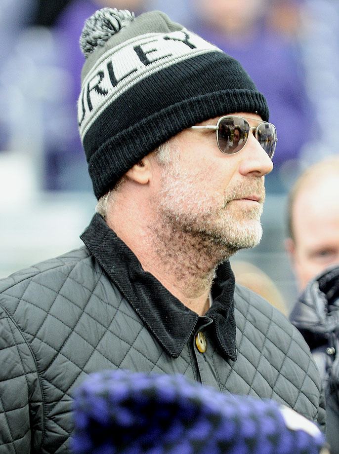 Will Ferrell attends the Washington Huskies game against the Oregon Ducks on Oct. 12, 2013 at Husky Stadium in Seattle.
