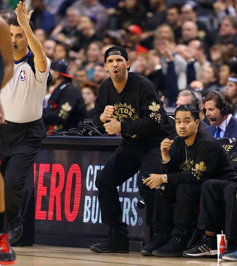 Toronto Raptors vs. Brooklyn Nets at Air Canada Centre in Toronto