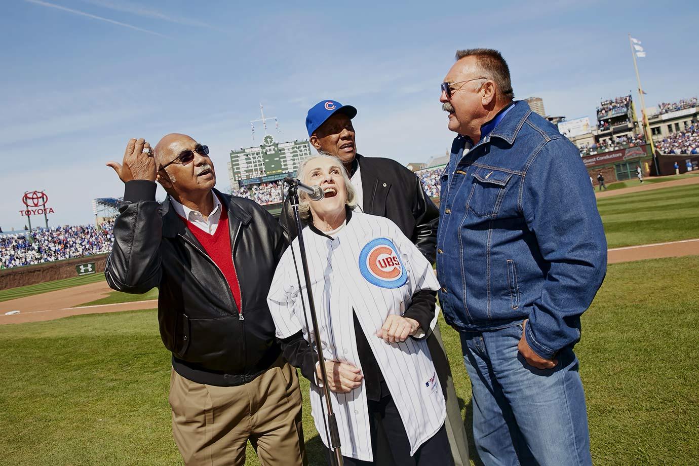 April 23, 2014 — Chicago Cubs vs. Arizona Diamondbacks