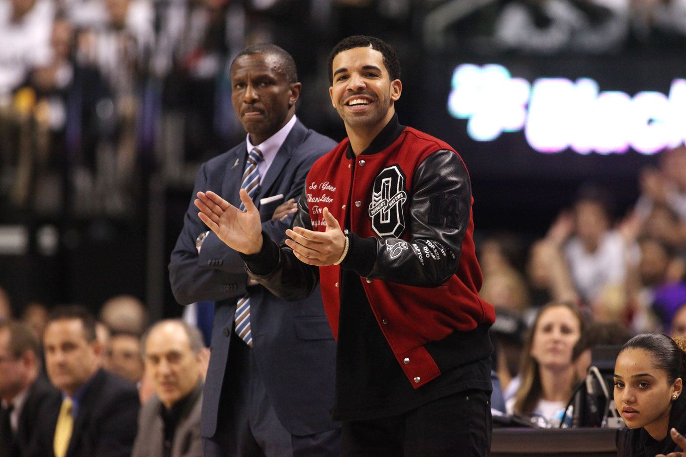 Toronto Raptors vs. Brooklyn Nets in Game 5 of the Eastern Conference Quarterfinals at Air Canada Centre in Toronto