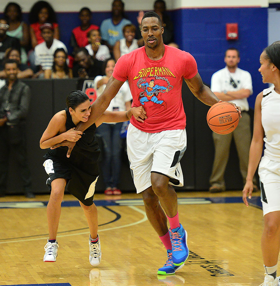 Aug. 31, 2014 — LUDA vs YMCMB celebrity basketball game