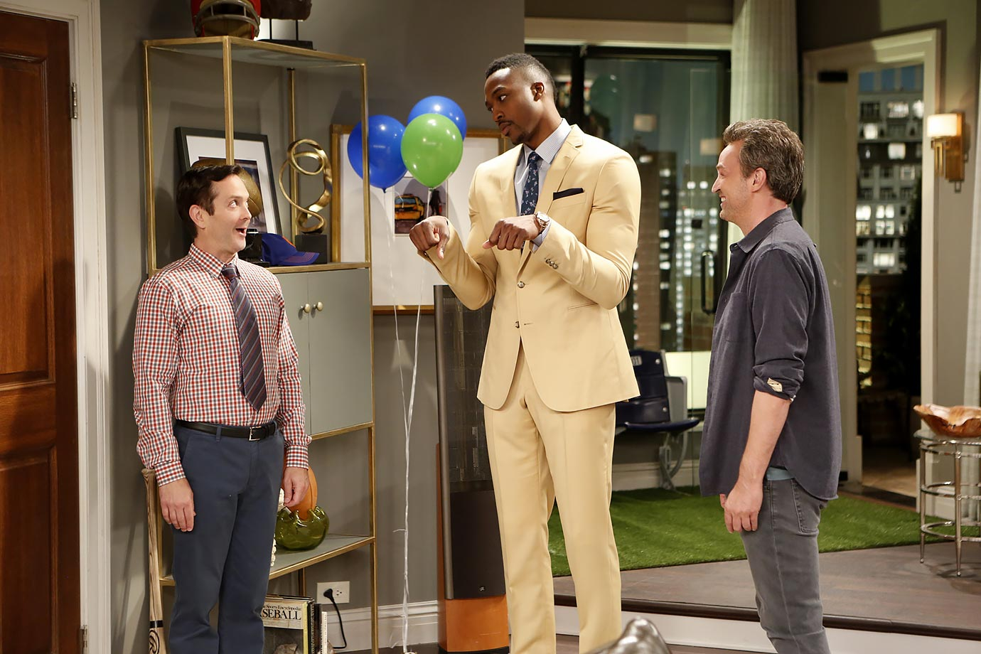 "Sept. 9, 2014 — ""The Odd Couple"" episode"