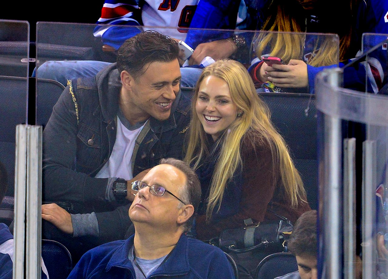 Oct. 12, 2014: New York Rangers vs. Toronto Maple Leafs at Madison Square Garden in New York City