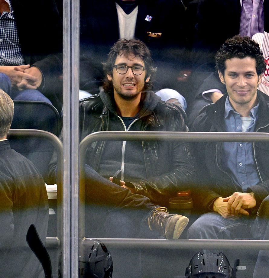 Oct. 14, 2014: New York Rangers vs. New York Islanders at Madison Square Garden in New York City