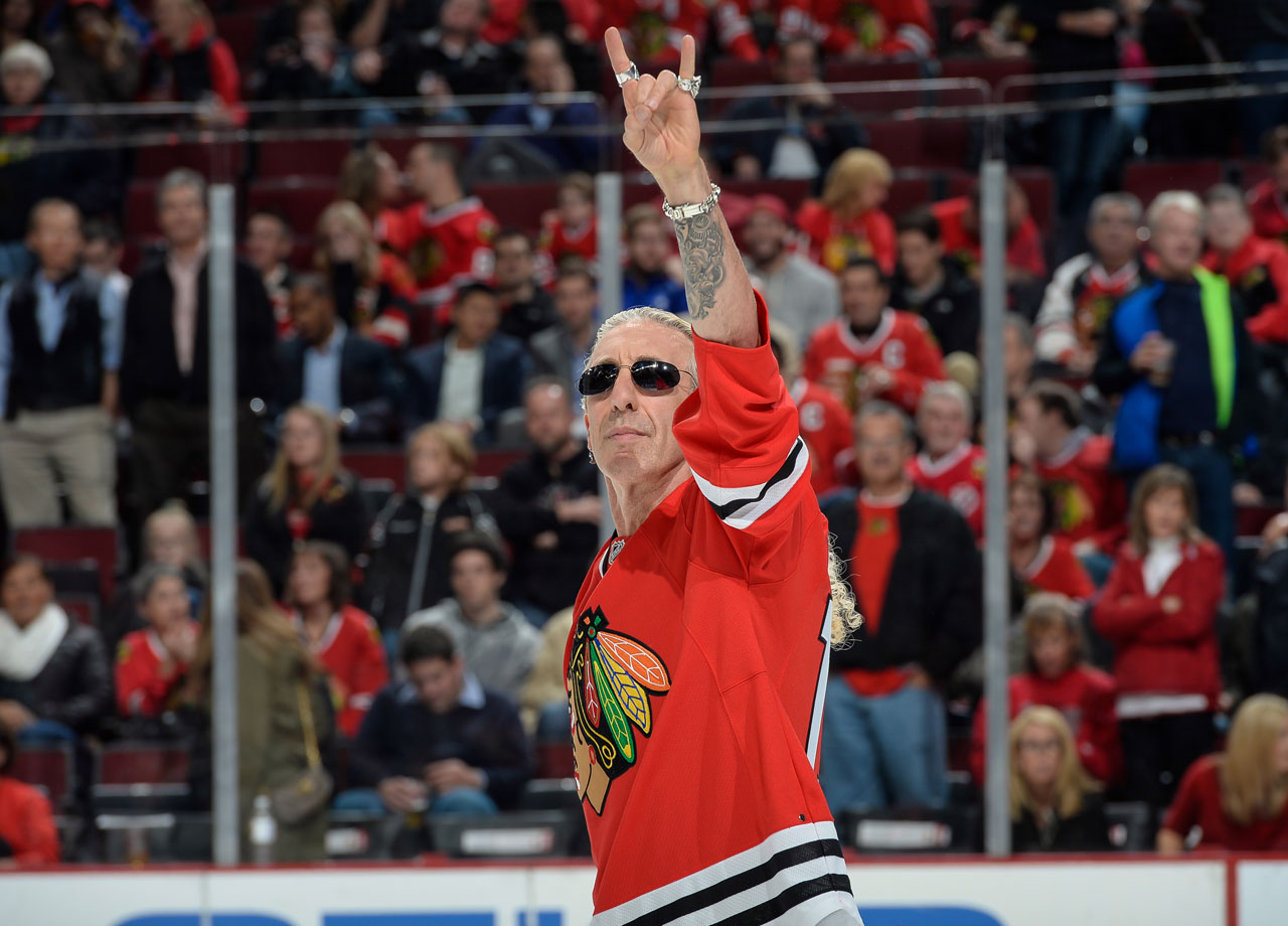Oct. 15, 2014: Chicago Blackhawks vs. Calgary Flames at the United Center in Chicago