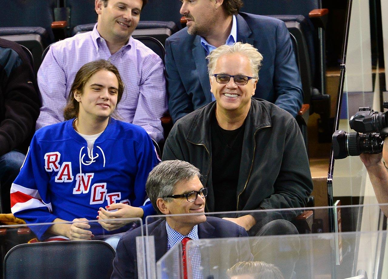 Oct. 27, 2014: New York Rangers vs. Minnesota Wild at Madison Square Garden in New York City