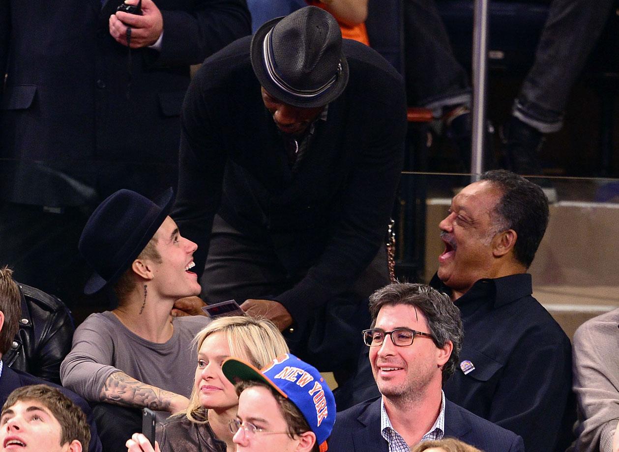 Oct. 29, 2014: New York Knicks vs. Chicago Bulls at Madison Square Garden in New York City