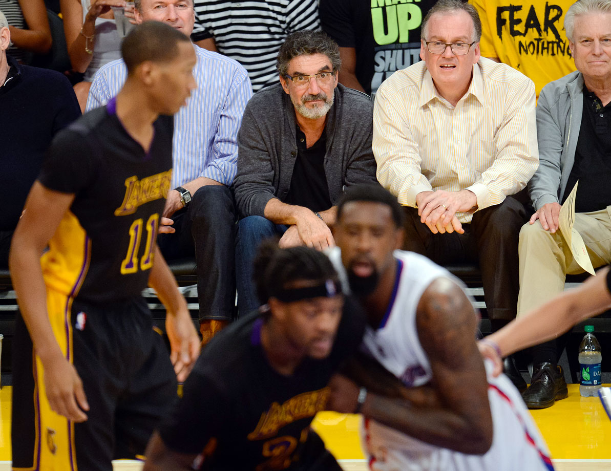 Oct. 31, 2014: Los Angeles Lakers vs. Los Angeles Clippers at Staples Center in Los Angeles