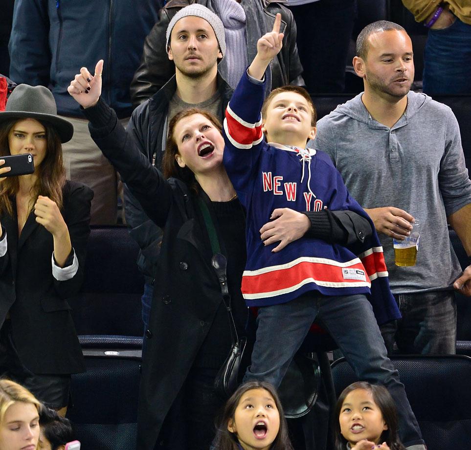 Nov. 1, 2014: New York Rangers vs. Winnipeg Jets at Madison Square Garden in New York City