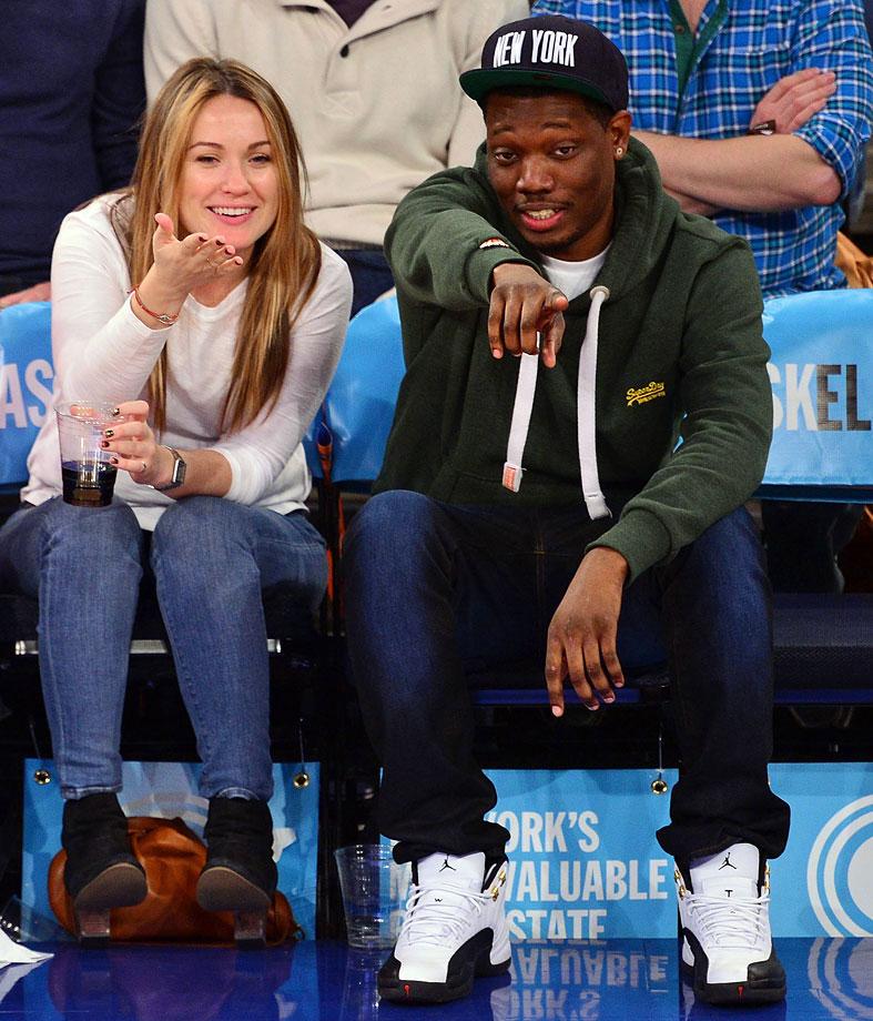 Nov. 2, 2014: New York Knicks vs. Charlotte Hornets at Madison Square Garden in New York City