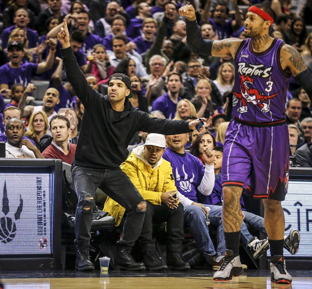 Nov. 4, 2014: Toronto Raptors vs. Washington Wizards at the Air Canada Centre in Toronto