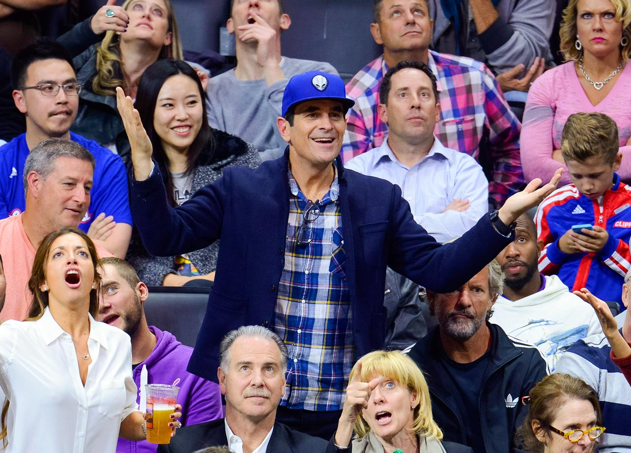 Nov. 10, 2014: Los Angeles Clippers vs. San Antonio Spurs at Staples Center in Los Angeles