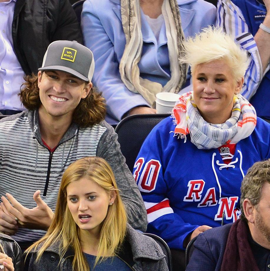 Nov. 11, 2014: New York Rangers vs. Pittsburgh Penguins at Madison Square Garden in New York City