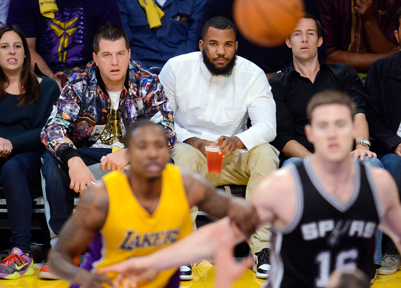 Nov. 14, 2014: Los Angeles Lakers vs. San Antonio Spurs at Staples Center in Los Angeles