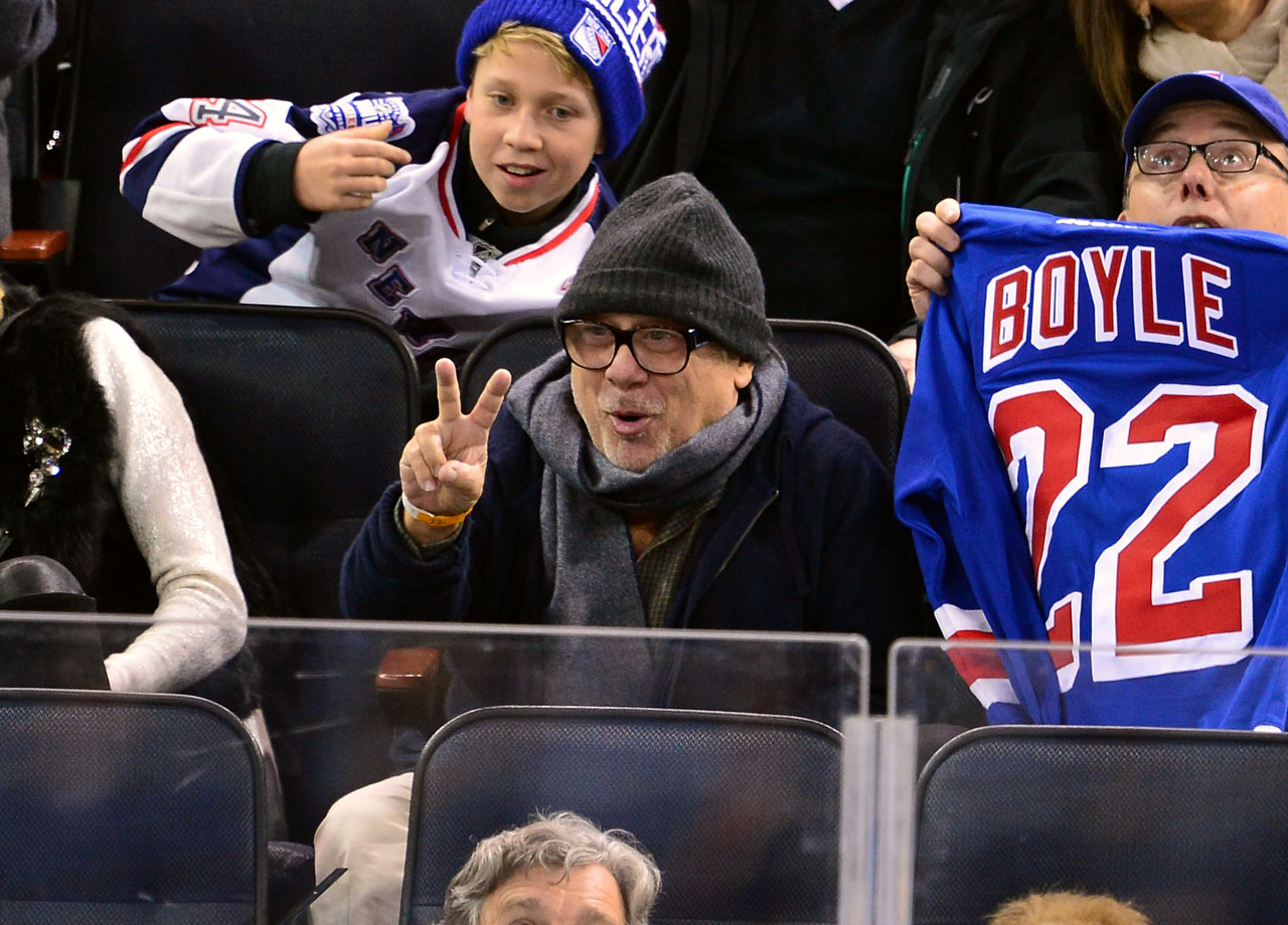 Nov. 19, 2014: New York Rangers vs. Philadelphia Flyers at Madison Square Garden in New York City