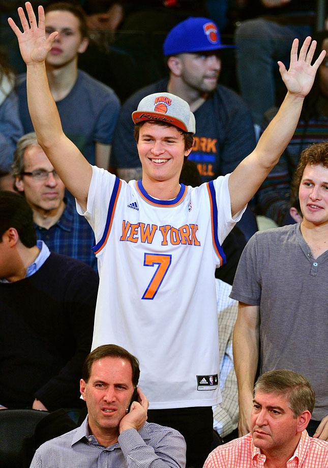 Nov. 30, 2014: New York Knicks vs. Miami Heat at Madison Square Garden in New York City