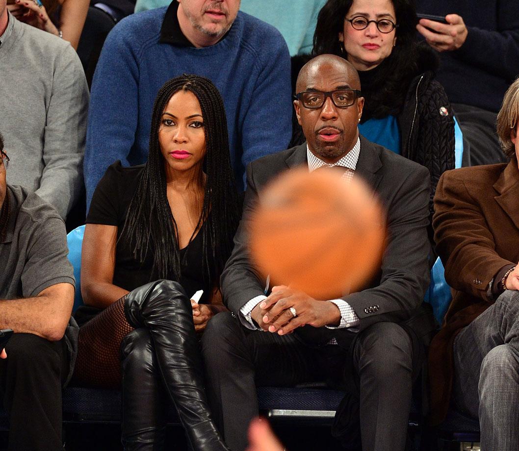 Dec. 2, 2014: New York Knicks vs. Brooklyn Nets at Madison Square Garden in New York City