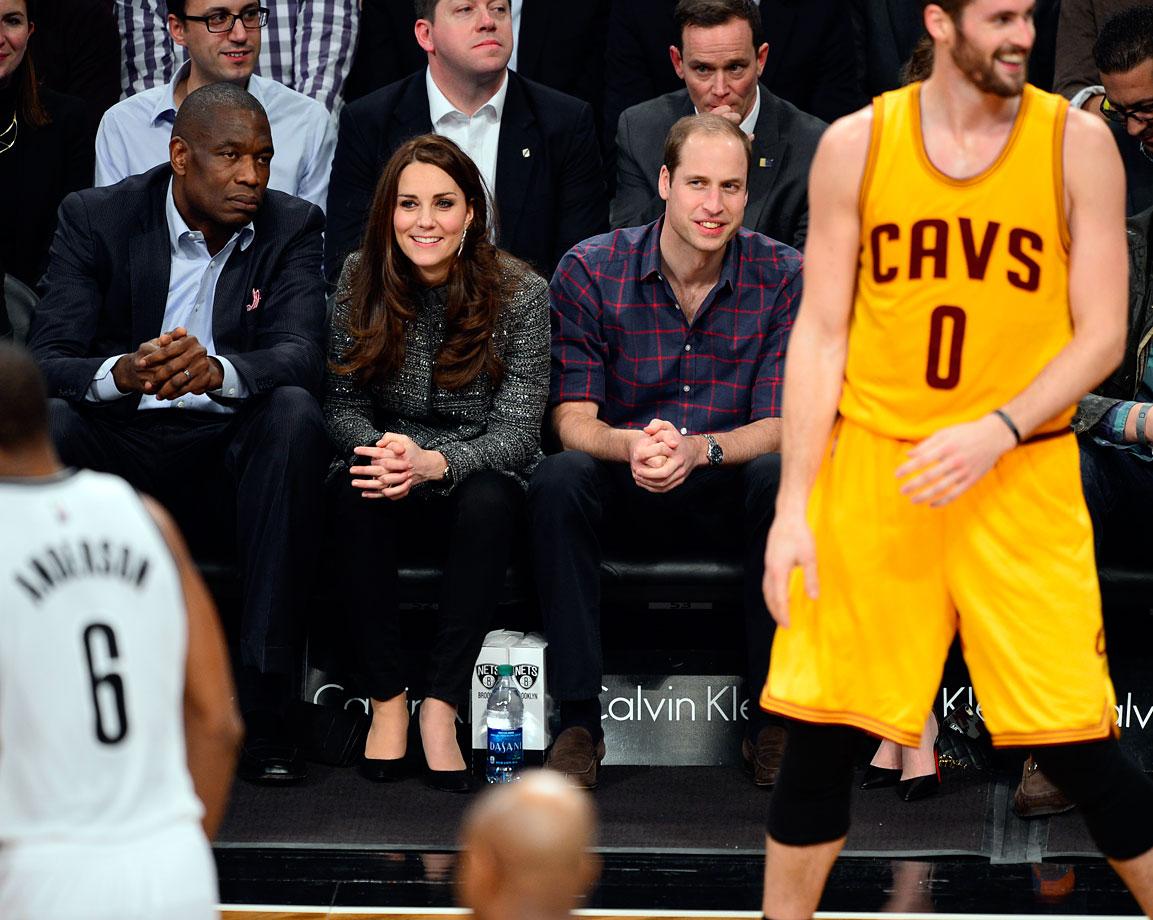 Dec. 8, 2014: Brooklyn Nets vs. Cleveland Cavaliers at Barclays Center in Brooklyn, N.Y.