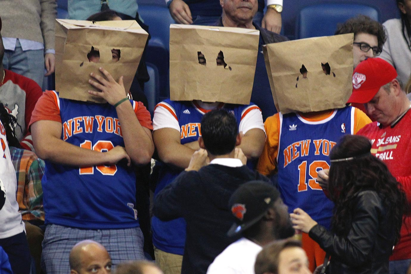 Knicks pride in full effect.