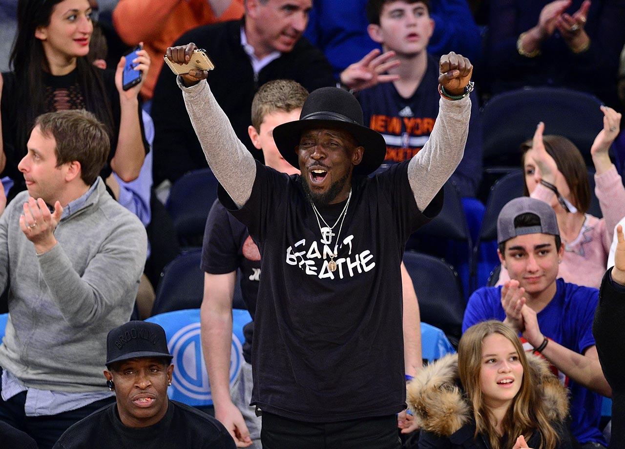 Dec. 14, 2014: New York Knicks vs. Toronto Raptors at Madison Square Garden in New York City