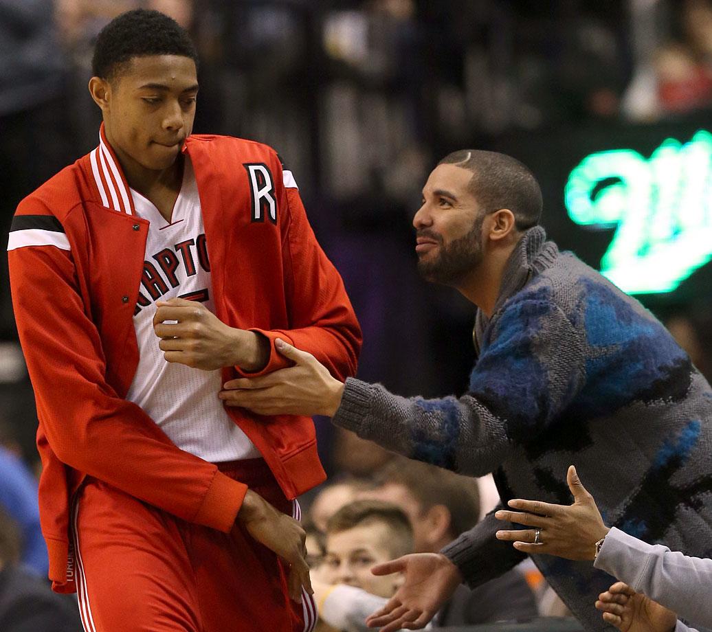 Toronto Raptors vs. New York Knicks at Air Canada Centre in Toronto