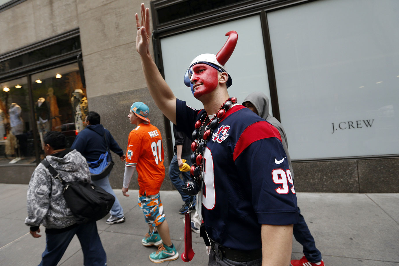 Houston Texans fans in 2014.