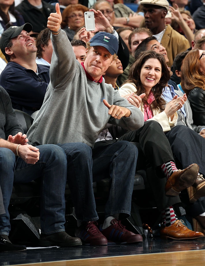 Will Ferrell attends the New Orleans Pelicans game against the Los Angeles Clippers on March 26, 2014 at the Smoothie King Center in New Orleans.