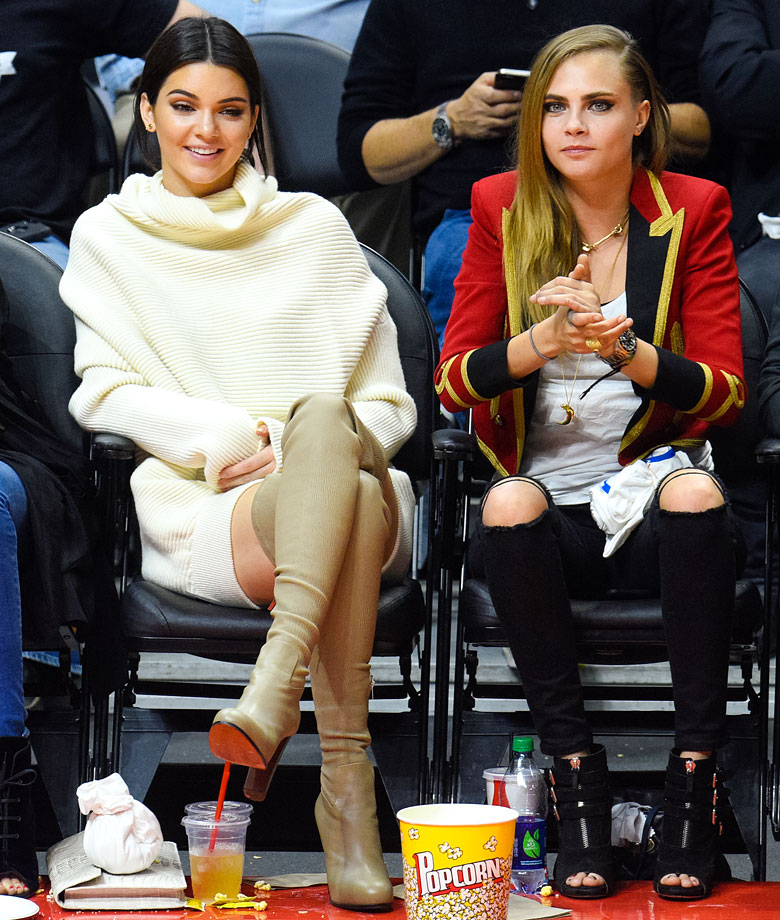 Jan. 7, 2015: Los Angeles Clippers vs. Los Angeles Lakers at Staples Center in Los Angeles