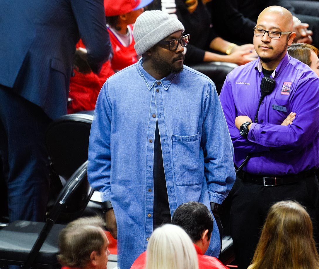 Jan. 16, 2015: Los Angeles Clippers vs. Cleveland Cavaliers at Staples Center in Los Angeles