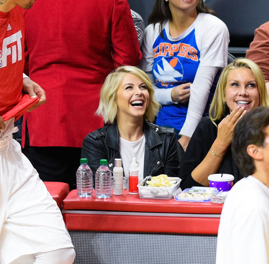 Game 1 Denver Nuggets Los Angeles Clippers: Hot Clicks: Celebrities In The Stands At NBA Games
