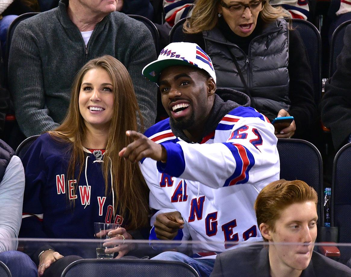 Jan. 31, 2015: New York Rangers vs. Carolina Hurricanes at Madison Square Garden in New York City