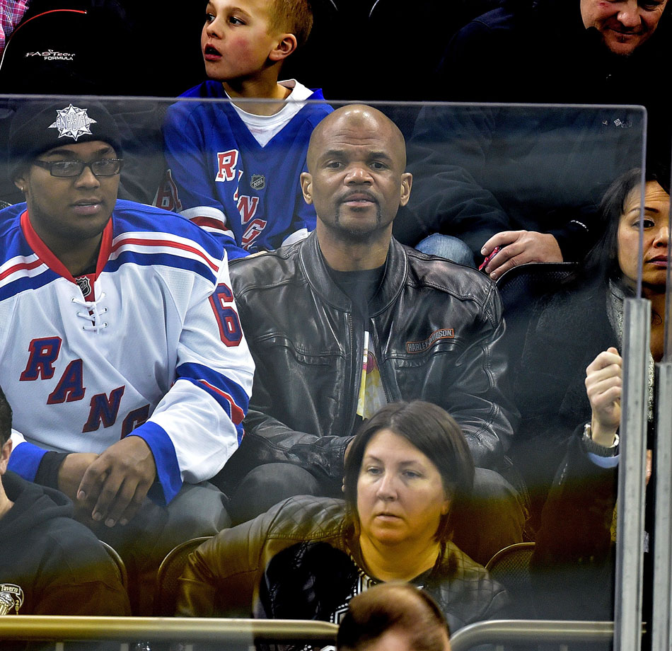 Feb. 4, 2015: New York Rangers vs. Boston Bruins at Madison Square Garden in New York City