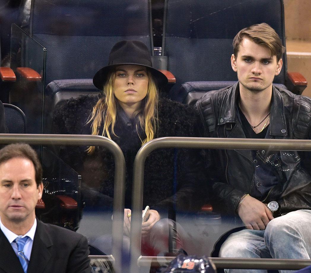 Feb. 4, 2015: New York Rangers vs. Boston Bruins at Madison Square Garden in New York City