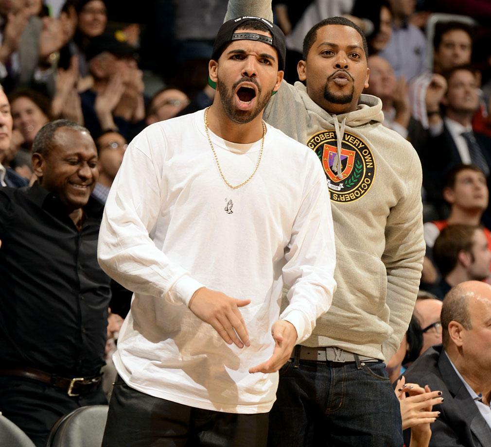 Drake Faces At NBA Games