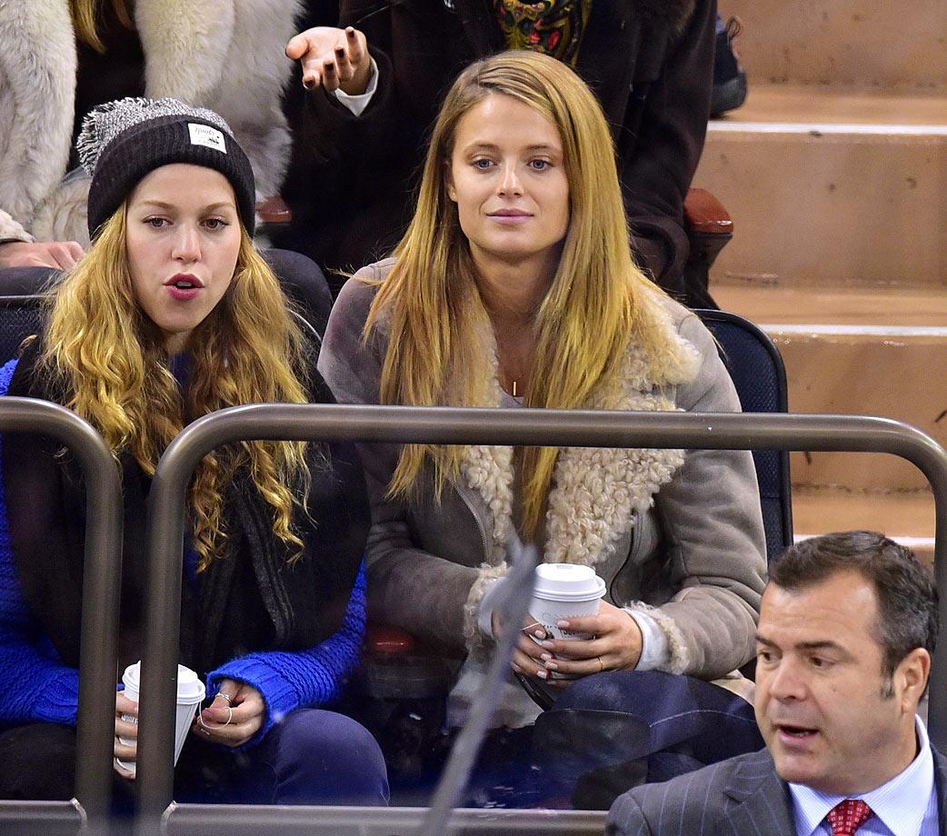 Feb. 19, 2015: New York Rangers vs. Vancouver Canucks at Madison Square Garden in New York City