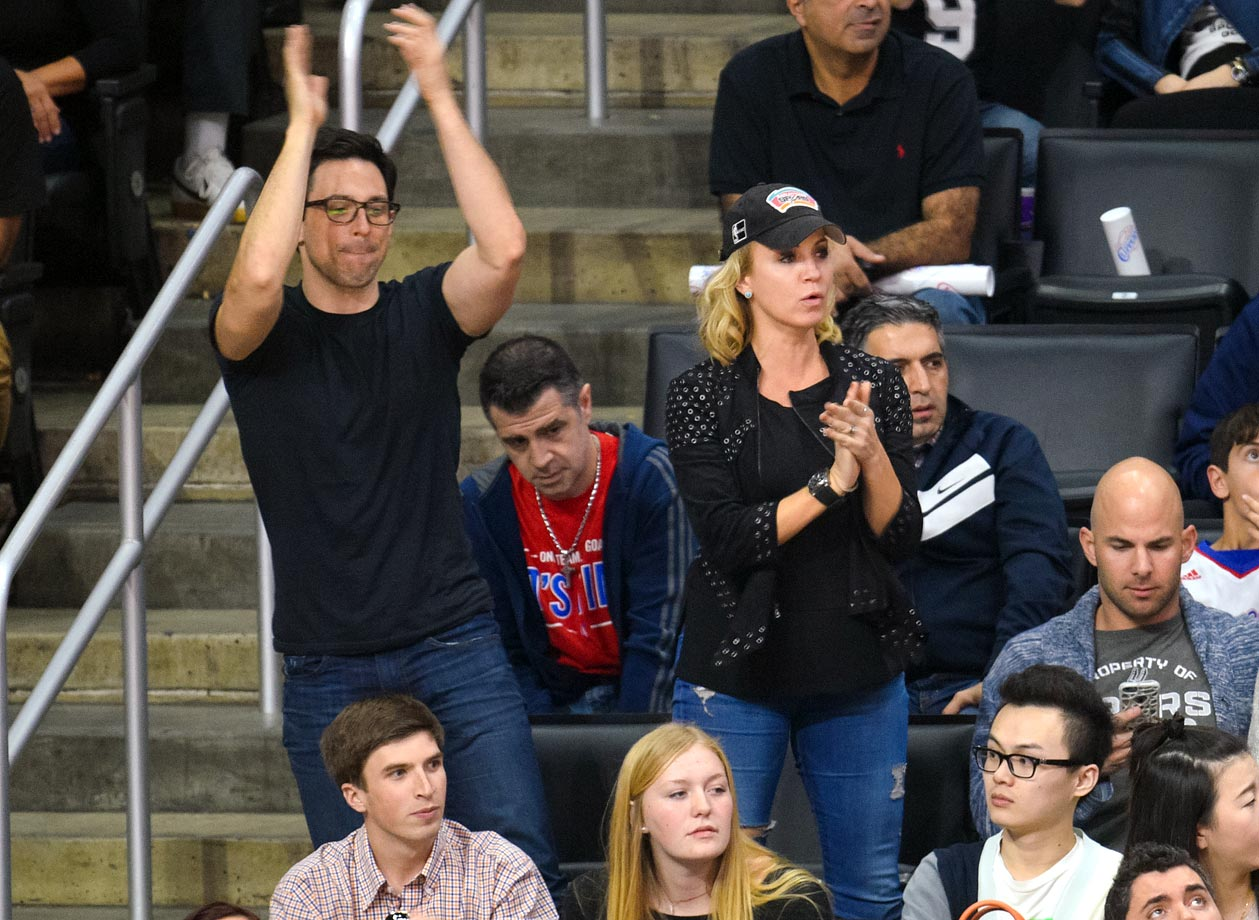 Feb. 19, 2015: Los Angeles Clippers vs. San Antonio Spurs at Staples Center in Los Angeles