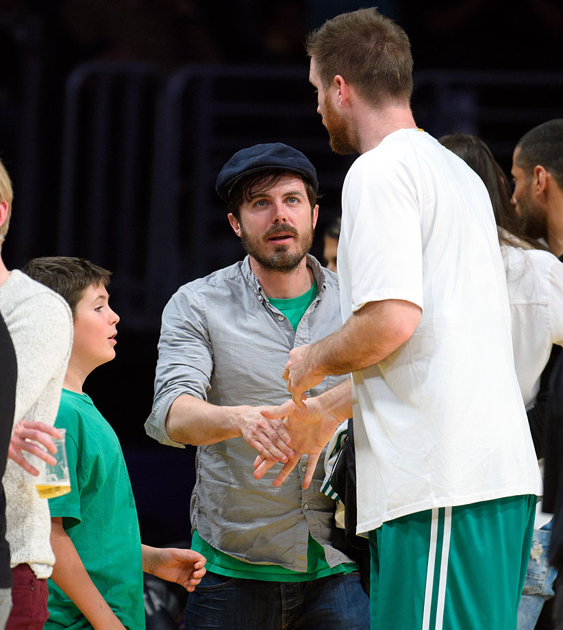 Feb. 22, 2015: Los Angeles Lakers vs. Boston Celtics at Staples Center in Los Angeles