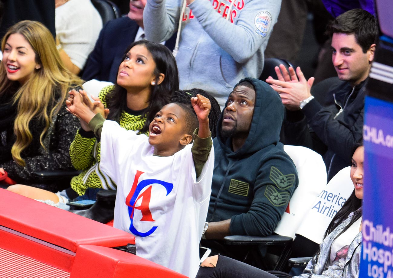 Feb. 23, 2015: Los Angeles Clippers vs. Memphis Grizzlies at Staples Center in Los Angeles