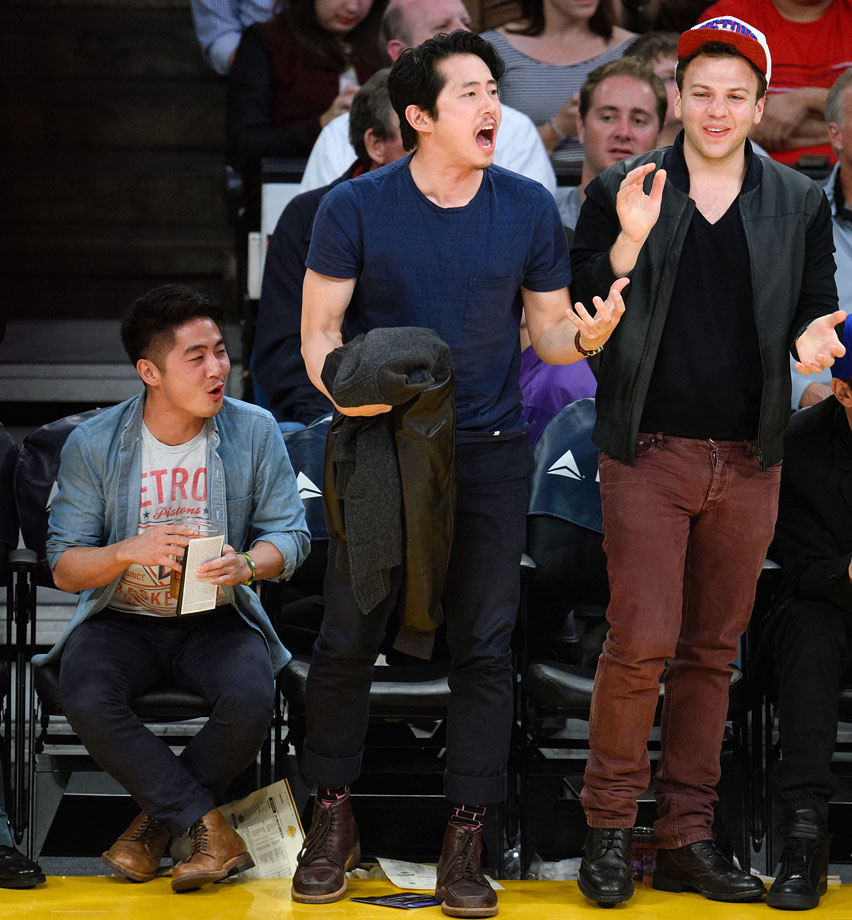 March 10, 2015: Los Angeles Lakers vs. Detroit Pistons at Staples Center in Los Angeles