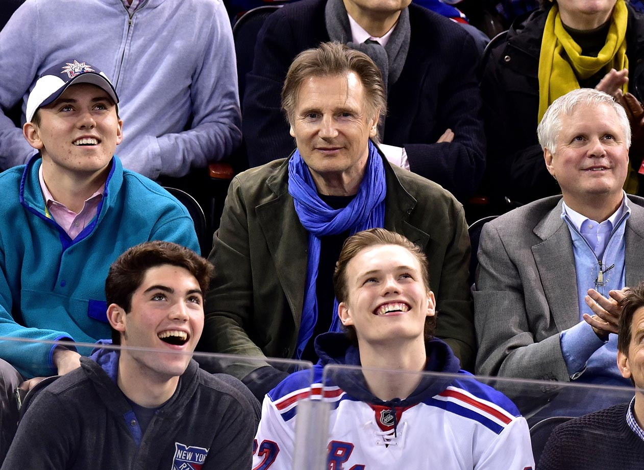 March 18, 2015: New York Rangers vs. Chicago Blackhawks at Madison Square Garden in New York City
