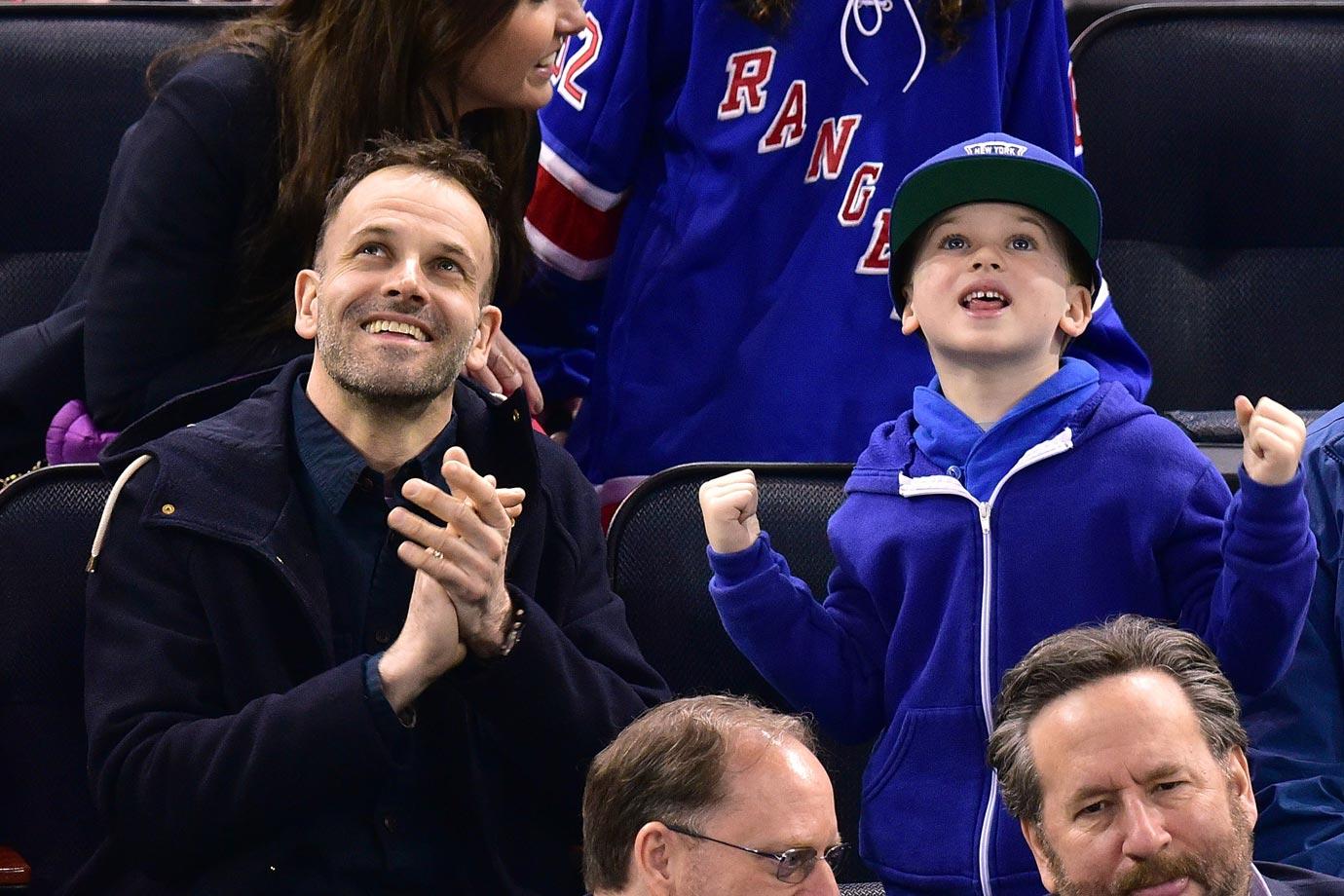 March 29, 2015: New York Rangers vs. Washington Capitals at Madison Square Garden in New York City