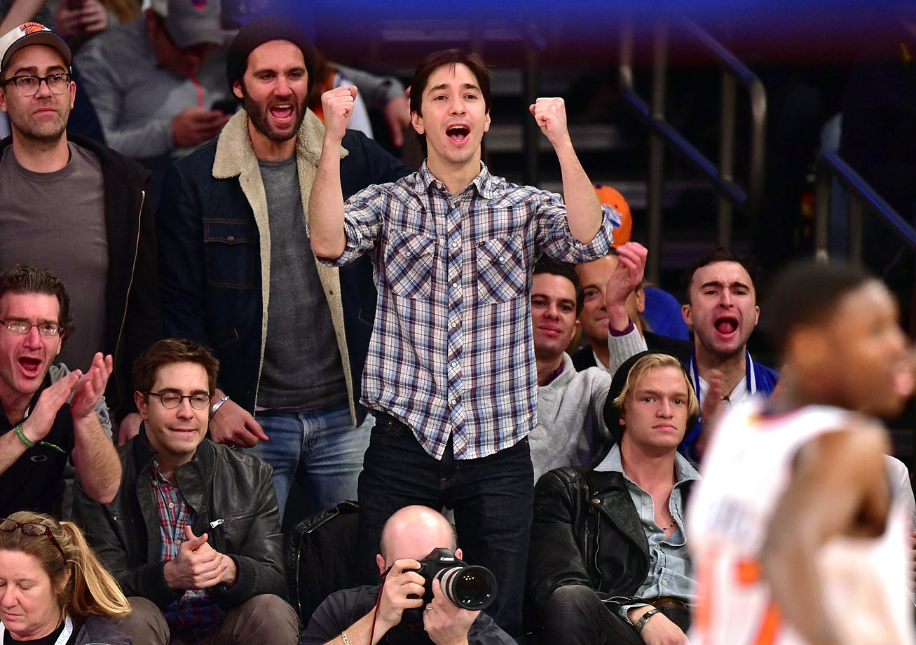 April 1, 2015: New York Knicks vs. Brooklyn Nets at Madison Square Garden in New York City